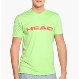 Remeras Head Hombre Cuello V Tenis - Padel Varios Colores