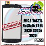 Mica Tactil Blu Studio X8 Hd S530 S530u S530l Somos Tienda