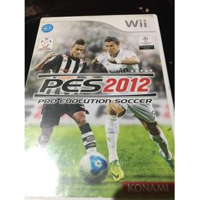 Pes 12 Pro Evolución Soccer Para Wii