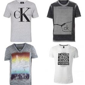 Kit C/ 10 Unidades De Camisetas Camisas Masculinas Atacado