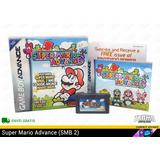 [ Super Mario Advance ] Caja Completo Gba Sp 2 | Tracia