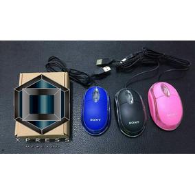 Mouse Sony Colores Caja Promocion ( Mayorista)