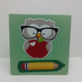 Caixa De Papel Personalizada Para O Dia Do Professor
