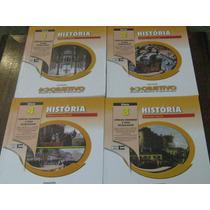 Livros Coleção Objetivo História 4 Volumes 2014