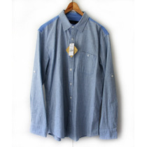 Camisa Manga Larga (masculina), Talla L -marca Bossii