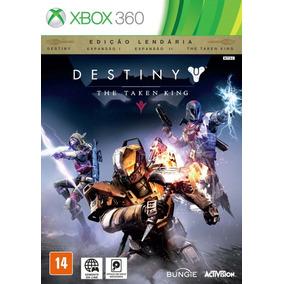 Destiny The Taken King Ed Lendária X360 Mídia Digital Ñ É Cd