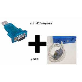Cabo Recovery Rs232 Xp1 Twin +conversor Usb