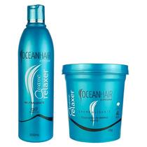 Kit Relaxamento Wave Relaxer Tioglicolato Amônio Ocean Hair