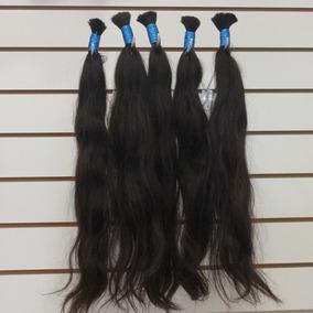 Cabelo Humano Natural Liso 70-75 Cm 50g Para Mega Hair