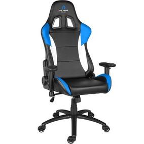 Cadeira Gamer Alpha Gamer Orion V2 Black/white/blue