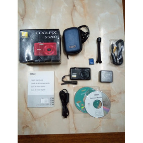 Nikon Coolpix S3200 - Subasta!