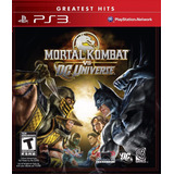 Mortal Kombat Vs Dc Universe Ps3 Español Lgames