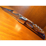 Canivete Laguiole Com Saca Rolha - Faca Cutelaria Vinho