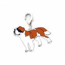 Placas Para Mascotas,dijes,collares Raza San Bernardo