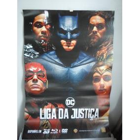 Poster A Liga Da Justiça - Frete: 8,00 - 64 X 94