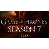 Game Of Thrones - 7ª Temporada Com Imagem Hd - 2017