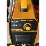 Máquina De Soldar Inverter Mosay 200 Amp.