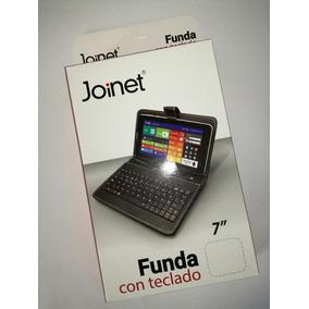 Funda Joinet Con Teclado Para Tablet Pc De 7 Pulgadas, C. V8