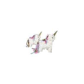 Unicornio Pinata Mini - Set Of 2 - Unicorn Party - Decoració