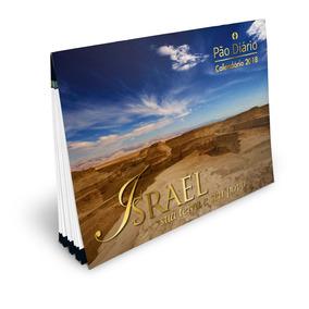 Kit 5 Unidades - Calendário Pão Diário Israel 2018