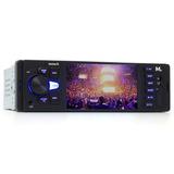 Media Player Mp5 Multilaser Tela 4 Usb Sd Aux Bt Outlet