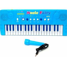 Piano Con Micrófono Teclado Electrónico Juguete Somos Tienda