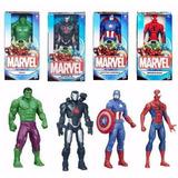 Muñecos Marvel Vengadores Spider Iron Hulk 15 Cm Hasbro