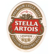 Bolacha De Chopp - Cerveja Stella Artois - Premium
