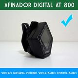 Afinador Digital De Violão Alonso At-800 Cromático Com Clip
