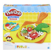 Conjunto Massinha Play Doh Pizza Party Festa Da Pizza Hasbro