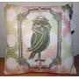 Almofada Sleeping Bird - Coruja Melancia Verde