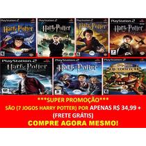 Harry Potter E O Enigma Do Príncipe Play 2 (kit 7 Jogos Ps2