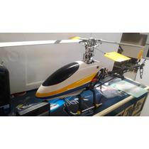 Helicóptero Black Hawk Hp-450 6 Canais 3d Igual T Rex 450