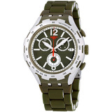 Swatch Irony Verde Attack Verde Dial Reloj De Los Hombres De
