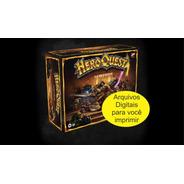 Hero Quest Jogo + Expansões Em Português - Monte Você Mesmo