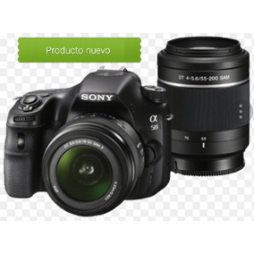 Camara Sony Profesional A58 Kit Dos Lentes Nueva