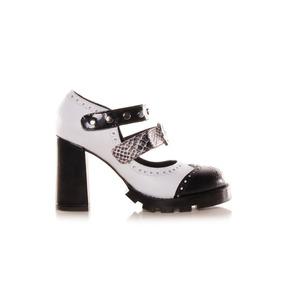 Sarkany Gryhu - Zapato Mujer Cuero Con Hebillas En Empeine