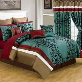 Lavish Home Juego De Edredón King De 25 Piezas Producto Usa