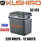 Conservadora Eléctrica Frio Calor Kushiro 32l. 12v/220v