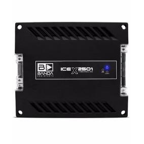 Módulo Banda Ice X2501 2500 Rms 1 Ohm Crossover Integrado