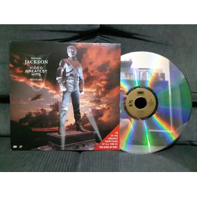 Ld Laser Disc Michael Jackson Video Greatest Hits History