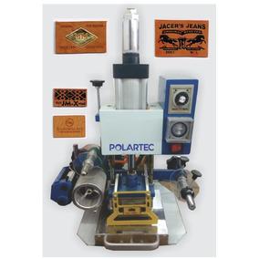 Troqueladora Para Etiquetas De Piel Y Sintetico Hot Stamping