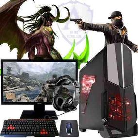 Pc Gamer Core I3 7100 Gtx 1030 2gb 1tb 8gb Acer 24 N21