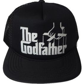 Boné Poderoso Chefão Godfather Aba Reta Trucker Cap