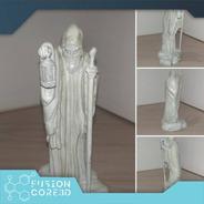 Escultura The Hermit (led Zeppelin) - Impressão 3d - 11cm