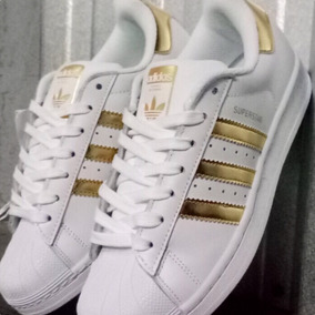 adidas superstar doradas