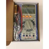 Tester Multimetro Yaxun 9208al Digital Profesional