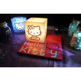 Centro De Mesa Hello Kitty 15 Piezas Aluzza.