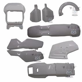 Kit Plástico Conjunto Completo Dt 200 Branca Paramotos