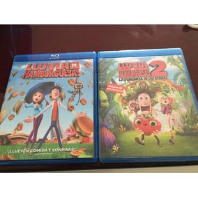 Lluvia De Hamburguesas 1 Y 2 Blu Ray
